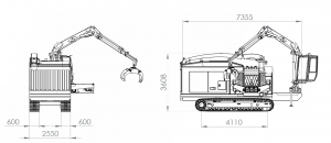 EUROPE CHIPPERS – medienos smulkintuvai EC 1175 draw 300x130